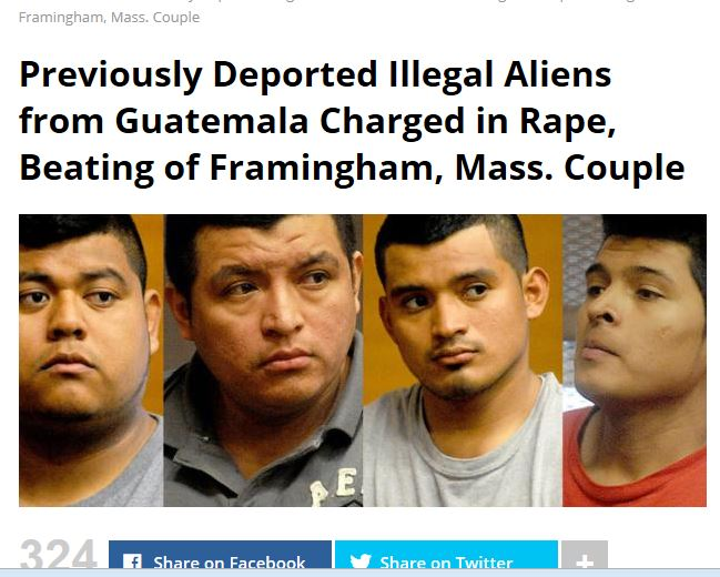 Rape by illegals